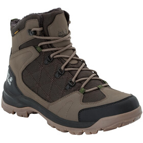 Jack Wolfskin Cold Terrain Texapore Sko Herrer, coconut brown/black